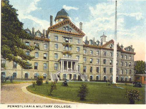 Old Main, PMC, now Widener University