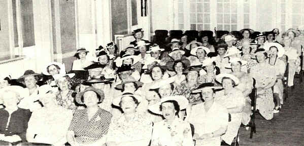 New Century Club Meeting; Photo from The Delaware County Advocate, July 1942