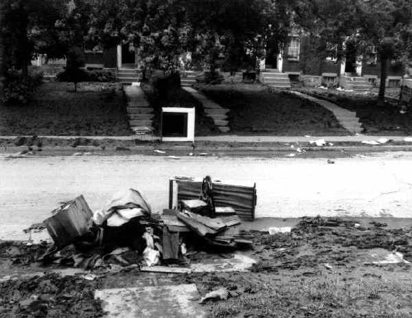 Eyre Park Flood, September 1971; Photo courtesy of Tom Dewey