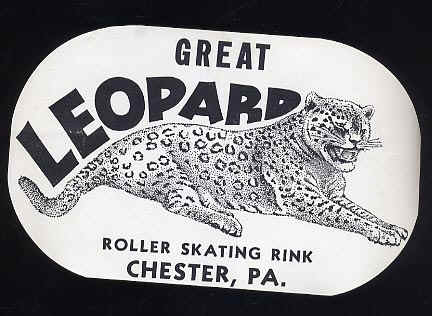 Great Leopard sticker courtesy of Paul Crowther