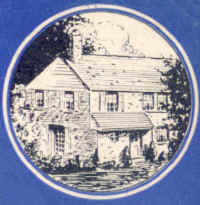 Detail of house from Highland Gardens blotter