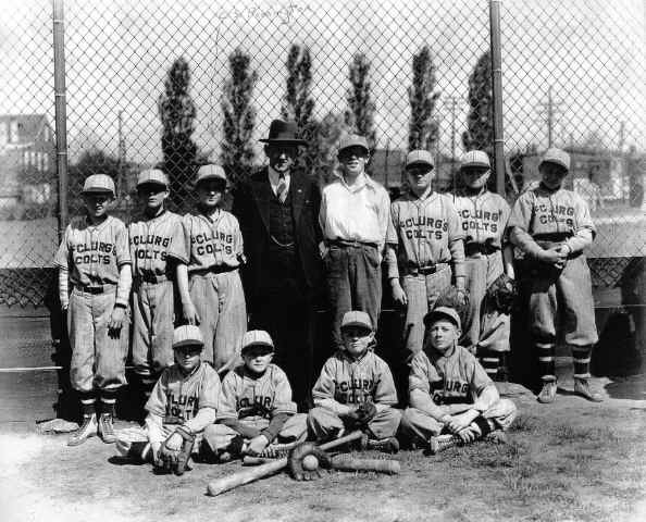 McClurg Colts c. 1929; Photo courtesy of Mike Semcheski