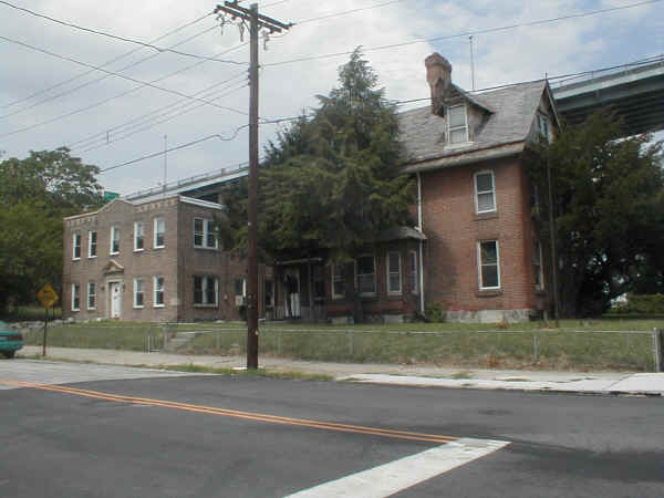 The Ruth L. Bennett Home for Women and Girls (right) and the Wilson Memorial Nursery (left); Photo © August 2006, John A. Bullock III