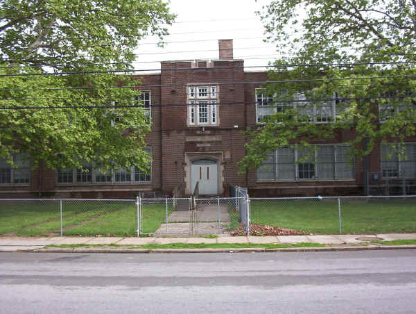 Booker T. Washington School; May 2004 photo courtesy of Marie Constantini Larner