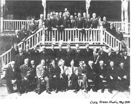 Annual Shad Dinner at Rosedale Inn, Essington, PA c. 1908